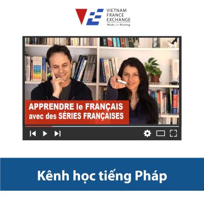 VFE Kênh Youtube luyện nghe tiếng Pháp 1