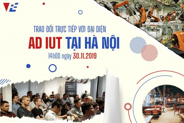 Trao đổi trực tiếp cùng đại diện hệ thống ADIUT ngay tại Hà Nội