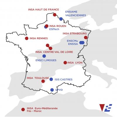VFE hệ thống trường INSA tại Pháp